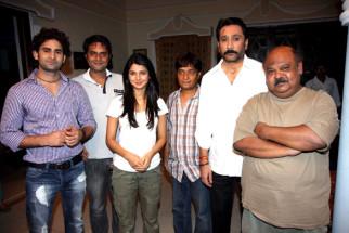 On The Sets Of The Film Love Kiya Aur Lag Gayi,Vinod Dixit,Rahat Kazmi,Jennifer Winget,Brijendra Kala,Mukesh Tiwari,Saurabh Shukla