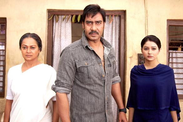 Movie Still From The Film Himmatwala,Zareena Wahab,Ajay Devgn,Leena Jumani