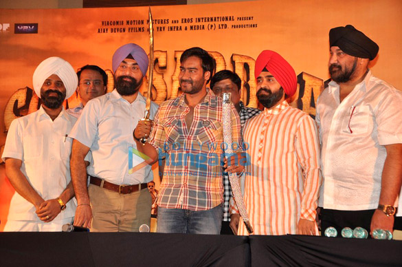 Press conference of 'Son Of Sardaar'