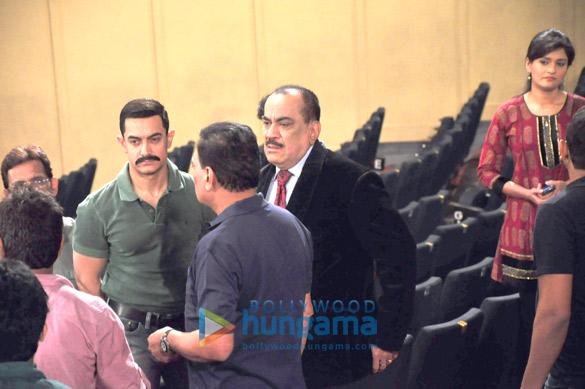 Aamir Khan, B.P. Singh, Shivaji Satam
