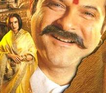 Movie Still From The Film Bulandi Featuring Anil Kapoor,Rekha