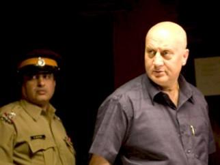 Movie Still From The Film Striker,Anupam Kher