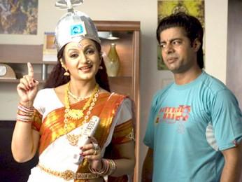 Movie Still From The Film Idiot Box,Upasna Singh,Sushant Singh