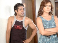 Movie Still From The Film Idiot Box,Sushant Singh,Hrishita Bhatt