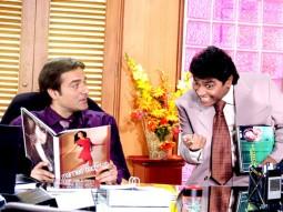 Movie Still From The Film Prem Kaa Game,Arbaaz Khan,Johny Lever