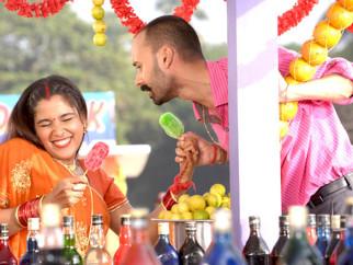 Movie Still From The Film Na Ghar Ke Na Ghaat Ke,Narayani Shastri,Rahul Aggarwal