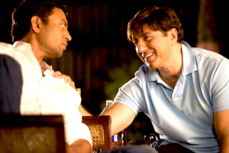 Movie Still From The Film Right Yaaa Wrong,Irrfan Khan,Sunny Deol