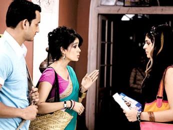 Movie Still From The Film Tum Milo Toh Sahi,Vidya Malvade, Rehan Khan, Anjana Sukhani