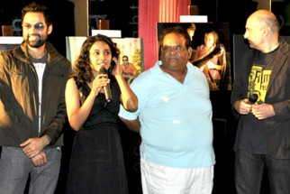 Photo Of Abhay Deol,Tannishtha Chatterjee,Satish Kaushik,Dev Benegal From The 'Road, Movie's photo exhibition