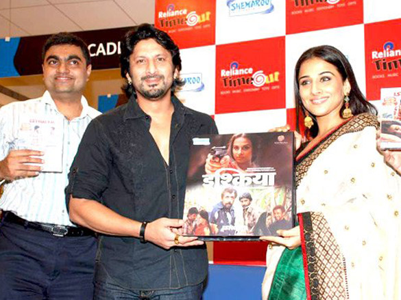 Launch of 'Ishqiya' DVD