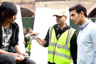 On The Sets Of The Fillim of 1-800 Love Featuring,John Abraham