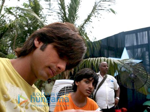On the sets of Chance Pe Dance
