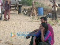On The Sets Of The Fillim of Road,Movie Featuring,Abhay Deol,Tannishtha Chatterjee