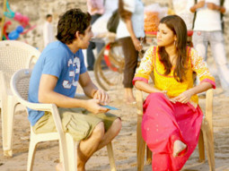On The Sets Of The Fillim of Wake Up Sid,Featuring,Ayan Mukerji,Konkona Sen Sharma