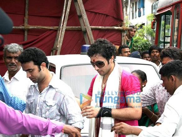 Adhyayan Suman celebrates Rakhi festival