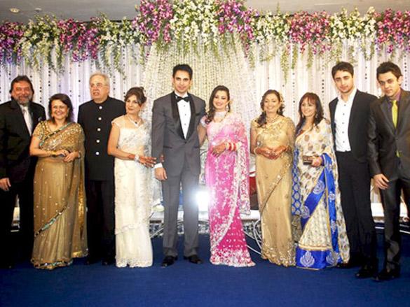 Imran Khan at Pooja Kanwal's wedding reception