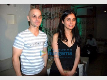 Photo Of Howard Rosemeyer,Rasika Duggal From Pre-release bash of Agyaat