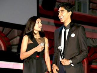 Photo Of Freida Pinto,Dev Patel From Screening of 'Slumdog Millionaire' at Somerset House in London