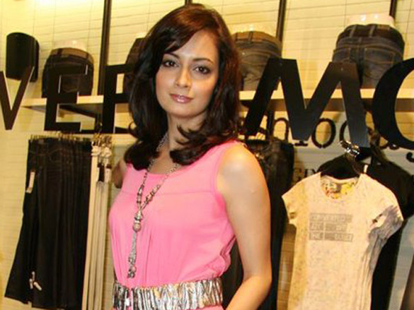 Dia Mirza at the launch of Vero Moda store