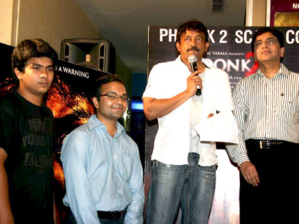 Ram Gopal Varma at 'Phoonk 2 Scare Contest'