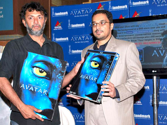 Rakeysh Omprakash Mehra launches the Blu ray ad DVD of 'Avatar'
