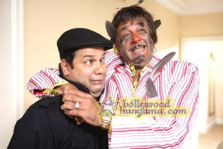 Movie Still From The Film Chatur Singh Two Star Sanjay Dutt,Suresh Menon