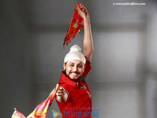 Movie Still From The Film De Bole Hadippa Featuring Rani Mukherjee