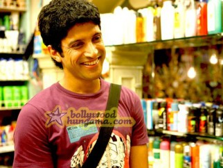 Movie Still From The Film Luck By Chance Featuring Farhan Akhtar