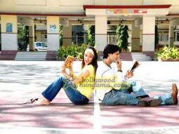 Movie Still From The Film 42 Kms Featuring Nauheed Cyrusi,Prashant Chainani