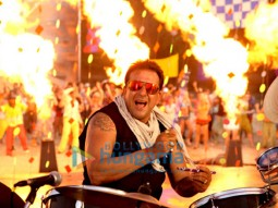 Movie Still From The Film All The Best Featuring Sanjay Dutt