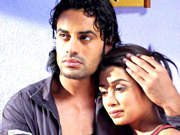 Movie Still From The Film Coffee House Featuring Aman Dhaliwal,Neha Mishra