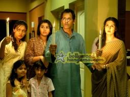 Movie Still From The Film 13B Featuring Neetu Chra,Poonam Dhillion