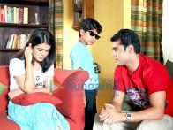 Movie Still From The Film Detective Naani Featuring Shweta Gulati,Zain Khan,Amit Varma