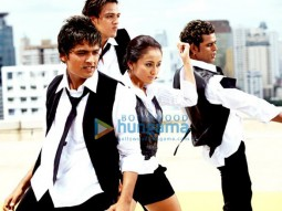 Movie Still From The Film Let's Dance Featuring Sugha