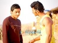 Movie Still From The Film Soch Lo Featuring Nishan Nanaiah