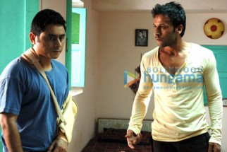 Movie Still From The Film Soch Lo Featuring Nishan Nanaiah,Sartaj Singh Pannu