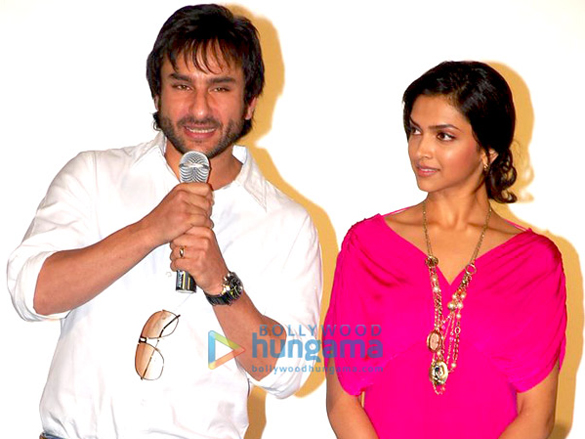 Saif And Deepika Unveil The First Look Of Love Aaj Kal