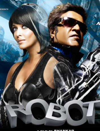 Still From The Film Enthiran - The Robot