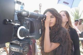 On The Sets Of The Film Hisss Featuring Mallika Sherawat,Irrfan Khan,Jeff Douchette,Divya Dutta,Raman Trikha