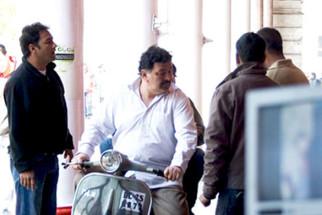 On The Sets Of The Film Do Dooni Chaar Featuring Rishi Kapoor,Neetu Singh,Archit Krishna,Aditi Vasudev,Akhilendra Mishra,Supriya Shukla