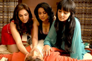 Movie Still From The Film Hello Darling,Eesha Koppikhar,Gul Panag,Celina Jaitly