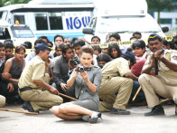 Movie Still From The Film Knock Out,Kangna Ranaut