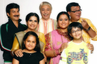 Movie Still From The Film Khichdi - The Movie,Jamnadas Majethia,Jamnadas Majethia,Nimisha Vakharia,Anang Desai,Supriya Pathak,Rajeev Mehta