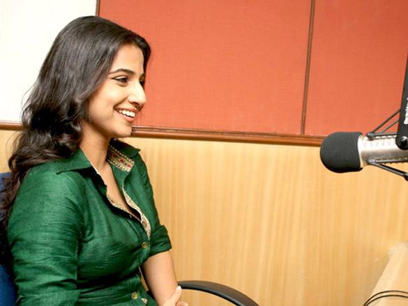 Vidya and Rani promote 'No One Killed Jessica' at Radio City 91.1 FM