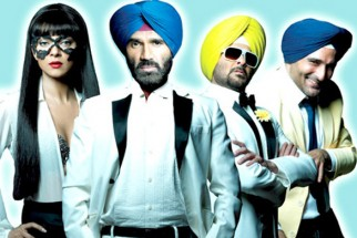 Movie Still From The Film No Problem,Sushmita Sen,Suniel Shetty,Anil Kapoor,Akshaye Khanna