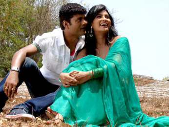Movie Still From The Film Impatient Vivek,Vivek Sudarshan,Sayali Bhagat