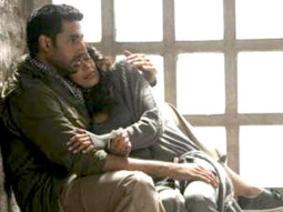 Movie Still From The Film Game,Abhishek Bachchan,Sarah Jane Dias