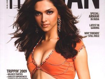 Deepika Padukone,On The Cover Of The Man,Jan 2009