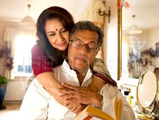 Movie Still From The Film Life Goes On,Sharmila Tagore,Girish Karnad