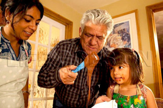 Movie Still From The Film Life Goes On,Om Puri